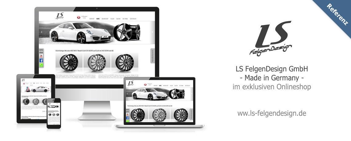 Webseitenerstellung run-web.de für ls-felgendesign.de